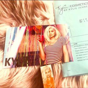 Kylie GLAM Birthday Collection Matte Lipstick